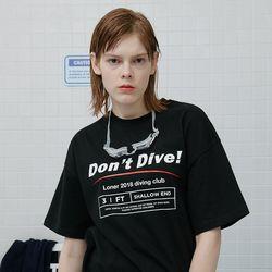 shallow end tshirt-black