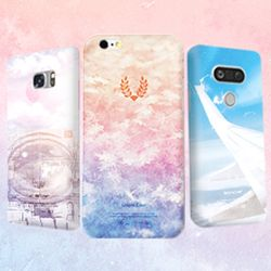 러블리 그래픽 핸드폰 케이스시즌5갤럭시노트5