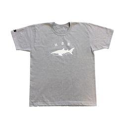 상어 티셔츠(그레이)