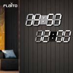 플라이토 3D LED 인테리어 벽시계 시즌2 38cm
