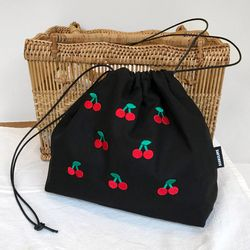 Ugly cherry Pouch X Bag