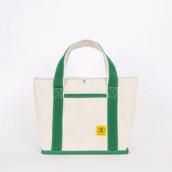 CHOU CHOU TOTE BAG Ecru-green