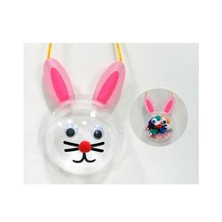 DIY유아만들기 토끼 사탕 목걸이 만들기 유아만들기재료