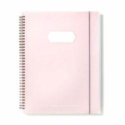 심플 16포켓파일 핑크