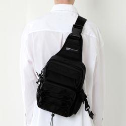 CORDURA TECH SLING BAG (ALL BLACK)