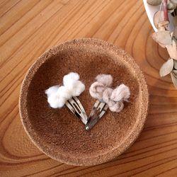 뜨개실리본핀