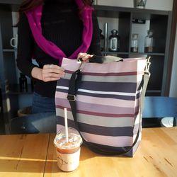 핑크뮬리 빅사이즈 기저귀가방 숄더백