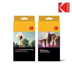 코닥 정품 포토 프린터 미니샷 미니2 전용 스티커 카트리지 20매