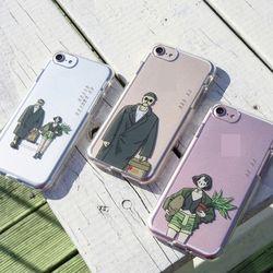 러블리 젤리 핸드폰 케이스아저씨와 소녀갤럭시S8플러스