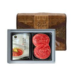 18년추석 황금한우 보름달 6호 1등급 불고기+쇠고기다용도양념