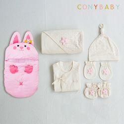 [CONY]출산준비물6종세트(반짝핑크5종+코니보낭)