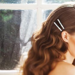 Frozen Star Swarovski Cubic Zirconia Hair Pin