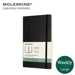 몰스킨 2019 위클리 12개월 소프트L 블랙