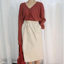 Cheese stick skirt