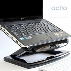 엑토 토네이도노트북쿨링스탠드&USB4포트허브 NBS-09H