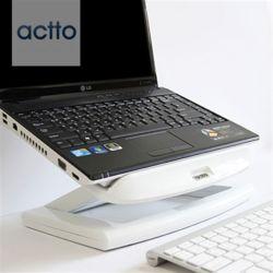 엑토 토네이도노트북쿨링스탠드&USB4포트허브 NBS-09W