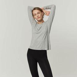 [3만원이상구매시대나무칫솔증정] 부디 롱 슬리브 크루 넥 티셔츠 WTTS501