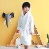 [엔비키즈] 아동 샤워가운 타올화이트 목욕가운 샤워타올