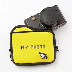 아이디어 디자인 카메라 카드 수납지갑 파우치