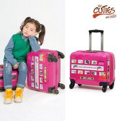 런던 스티커버스 (핑크)