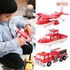 믹스&매치 자석블럭(소방차set) 소방차-보트-비행기