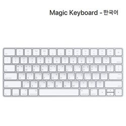 [Apple] 애플 Magic Keyboard - 한국어 (MQ5L2KHA)