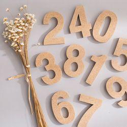 미니 우드 숫자(6.5cm)
