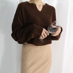 Golgi loose fit knit