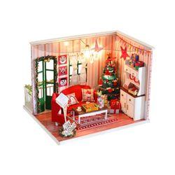 [adico]DIY 미니어처 하우스 - 크리스마스 데이트