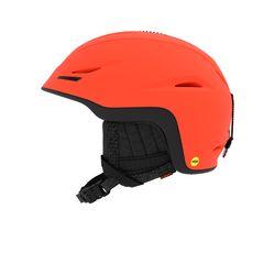 유니온 MIPS 아시안핏 보드스키 헬멧 - MATTE VERMILLION BLACK