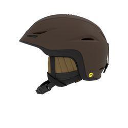 유니온 MIPS 아시안핏 보드스키 헬멧-MAT DARK BROWN MO ROCKIN