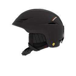 유니온 MIPS 아시안핏 보드스키 헬멧-MAT BLACK RED SPORT TECH