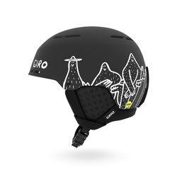 이머지 MIPS 보드스키 헬멧-MATTE BLACK LUCAS BEAUFORT