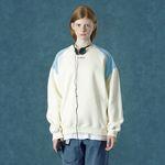 [앤커버] embroidery sweatshirt-cream