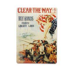 틴 포스터-Clear the way