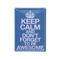 틴 포스터-Keep calm
