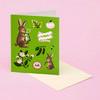 OLIVE RABBITS CARD