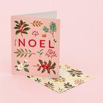 HOLIDAY PLANTS NOEL CARD PINK