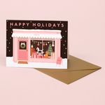 TOY SHOP HOLIDAY CARD
