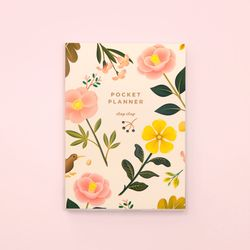 만년형 GARDEN BLOOM POCKET PLANNER CREAM