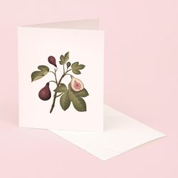 BOTANICAL SCENTED CARD FIG