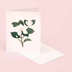 BOTANICAL SCENTED CARD MAGNOLIA