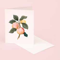 BOTANICAL SCENTED CARD PLUM