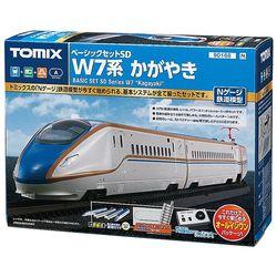 철도모형 베이직세트SD - W7계 카가야키 (N게이지)