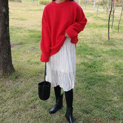 Fresh boxy knit