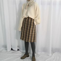 Cookie wool skirt울30