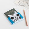 SNOWCAT PASSPORT COVER - BLUE