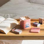 [클리어런스] 이태리숍 향초성냥세트 - 꽃향내 품은 비누 향