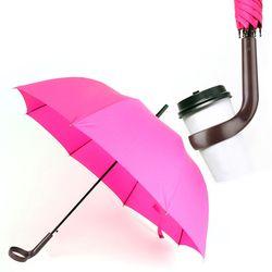 컵홀더우산 핑크
