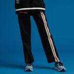 [기모] FRONT LINE TRACK PANTS BLACK